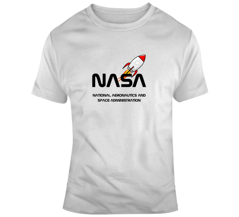 Nasa National Aeronautics And Space Administration Rocketship Gift T Shirt
