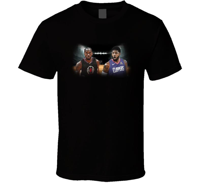 Paul George Kawhi And Leonard Los Angeles Clippers NBA Basketball Fan Gift T Shirt