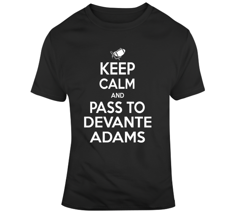 Keep Calm And Pass To Devante Adams Green Bay Pacers Nfl Football Fan Gift T Shirt