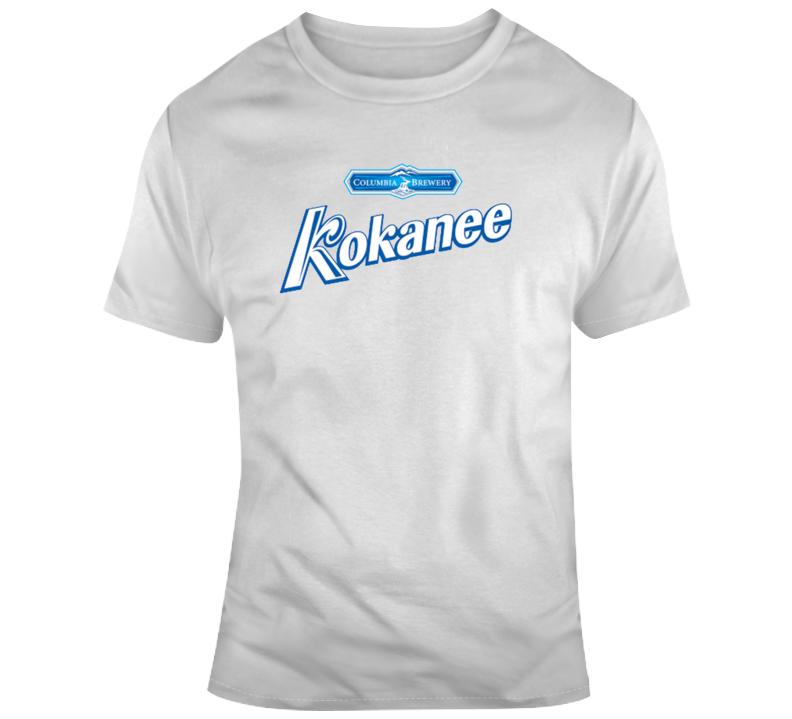 Kokanee Glacier Beer Alcoholic Beverage Beer Lover Gift T Shirt