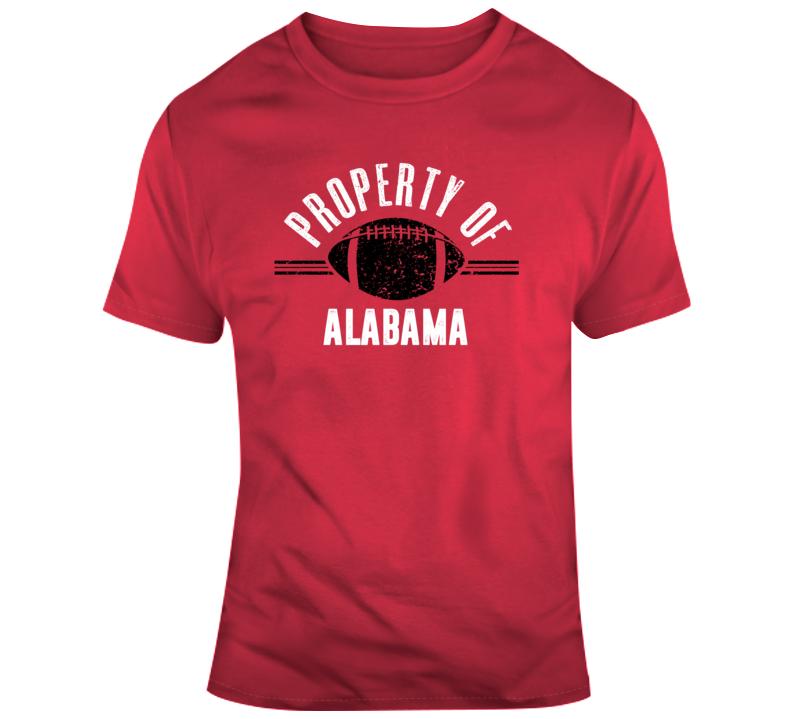 Property Of Alabama Crimson Tide College Football Fan Gift T Shirt