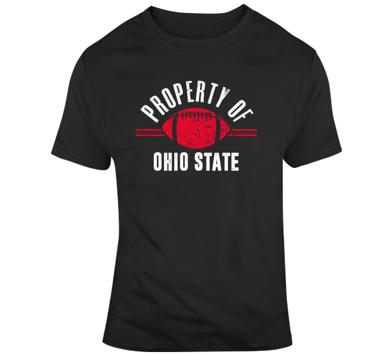 Property Of Ohio State Buckeyes College Football Fan Gift T Shirt