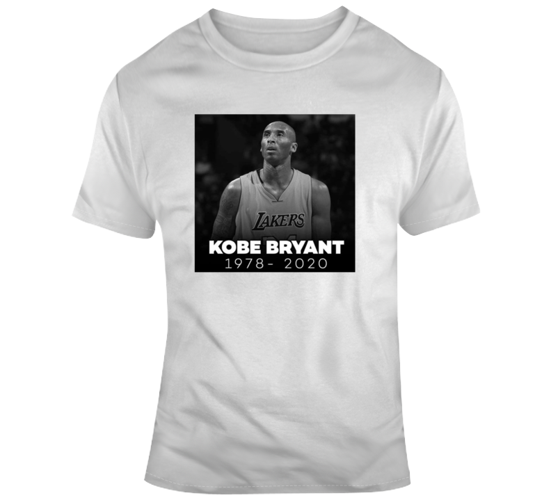 Rest In Peace Kobe Bryant Nba Basketball Legend 1978-2020 Rip Lakers Fan Gift T Shirt