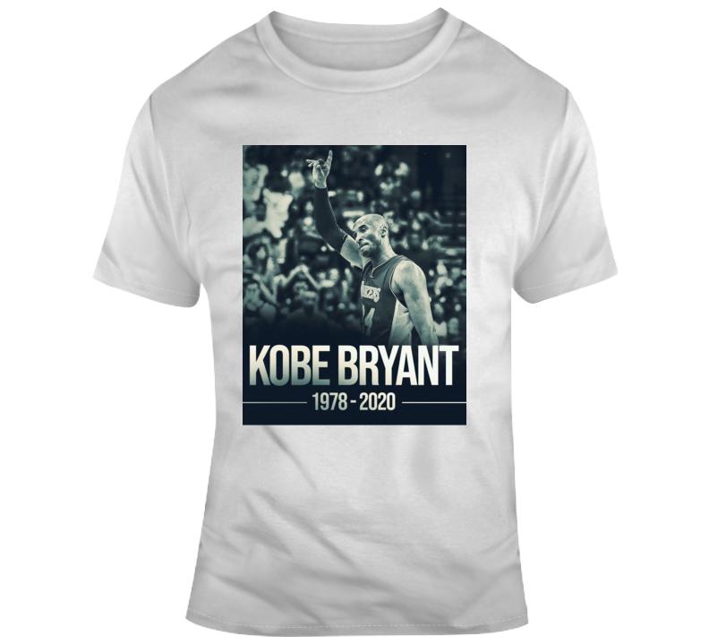 Rip Kobe Bryant Rest In Peace Nba Basketball Legend Los Angeles Lakers Fan Gift T Shirt
