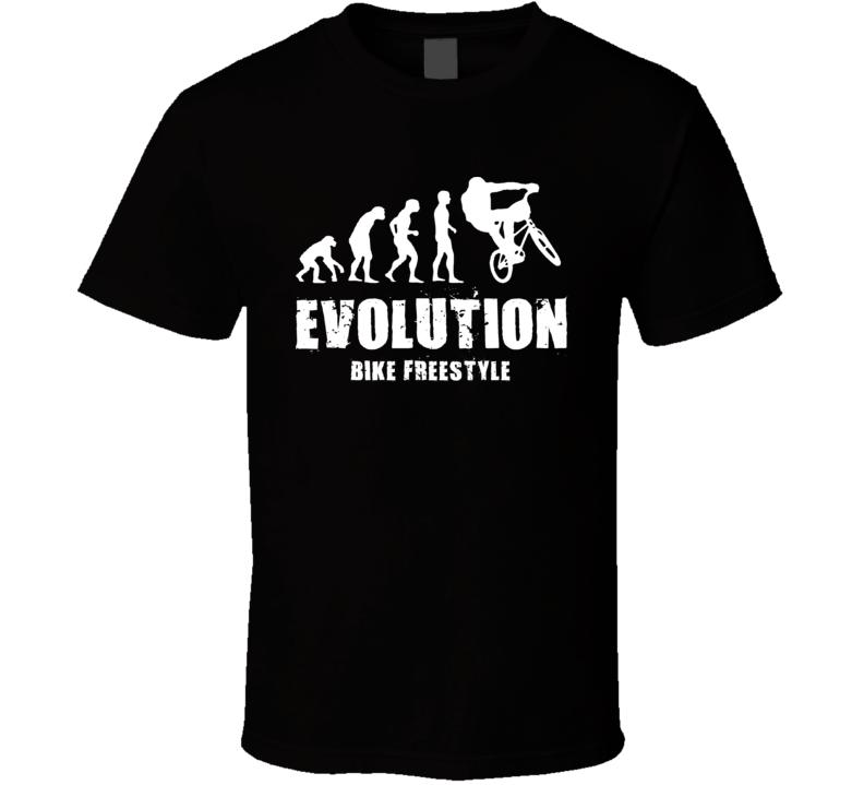 Bike Freestyle Evolution Bmx T Shirt