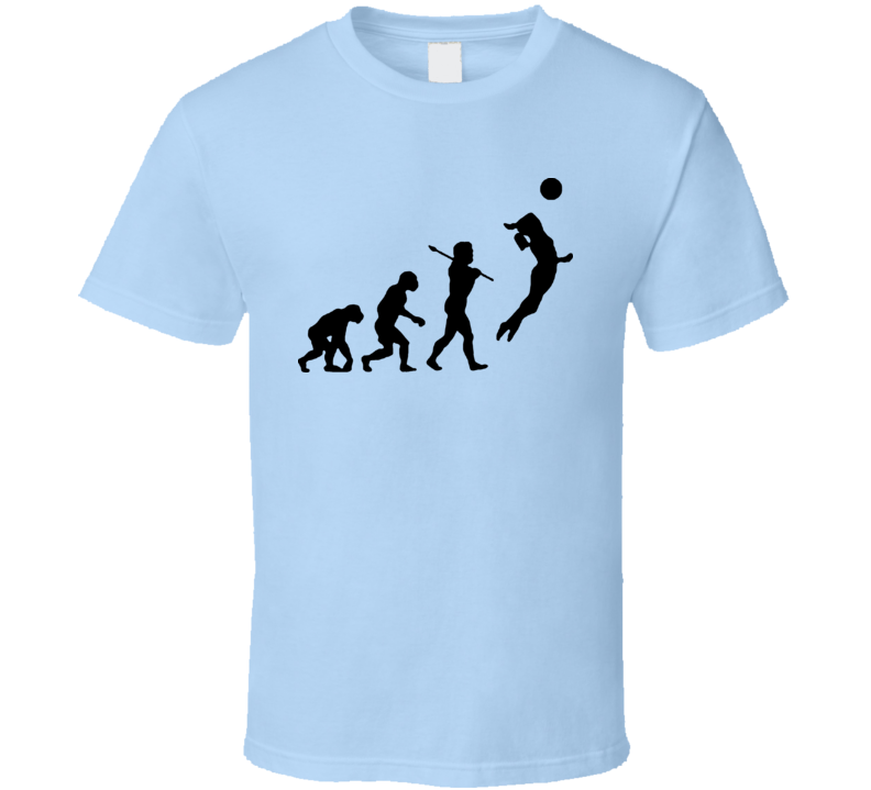 Evolution Volleyball Funny T Shirt