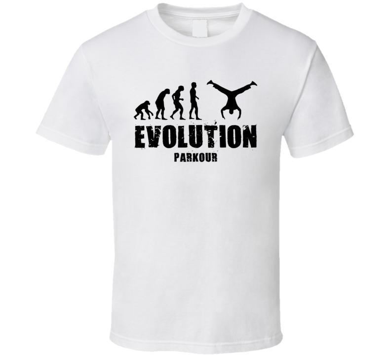 Evolution Parkour T Shirt