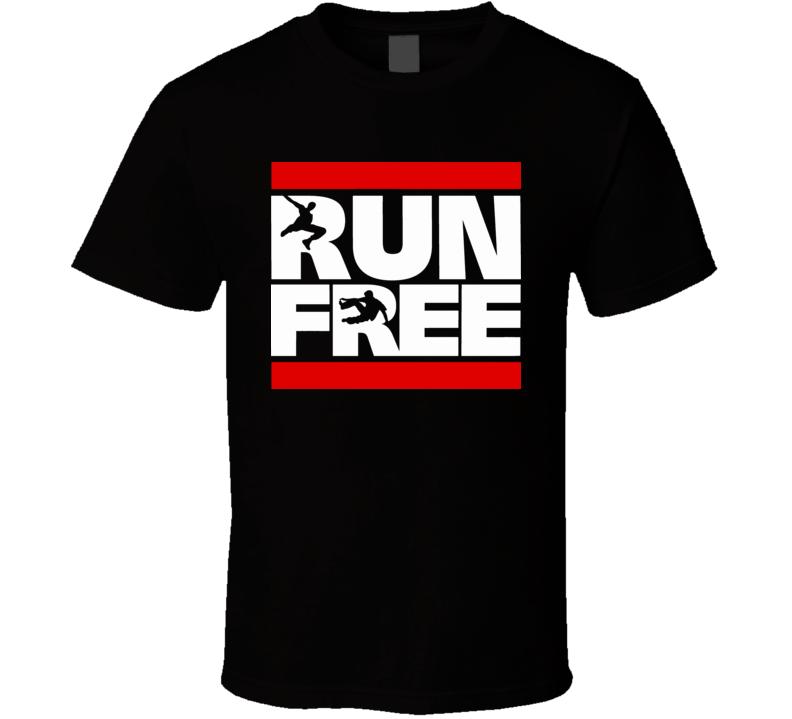 Run Free Parkour T Shirt
