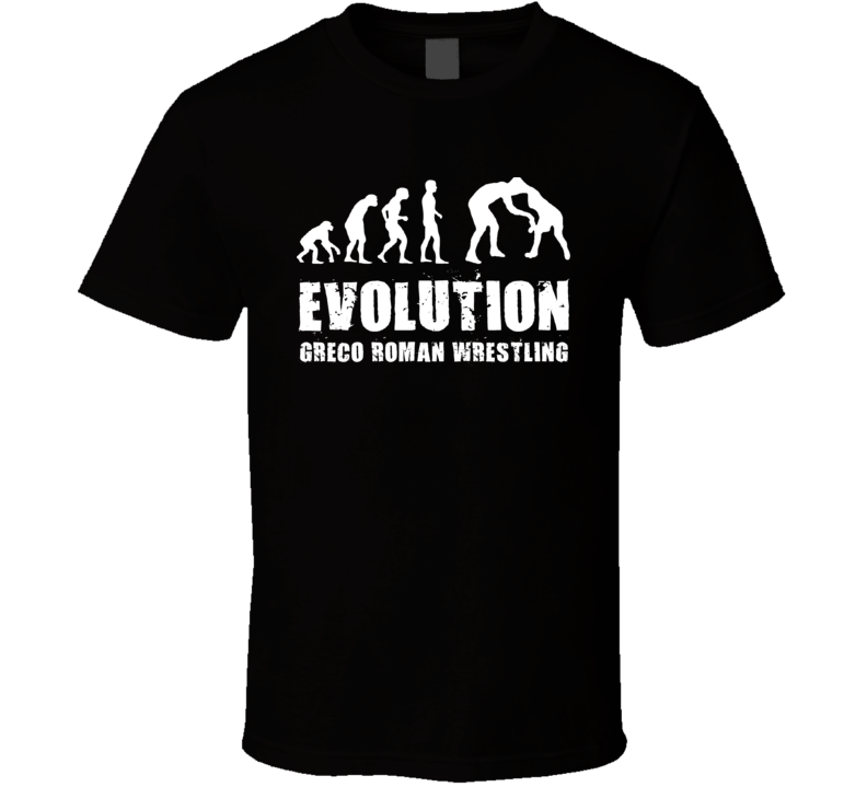 Evolution Greco Roman Wrestling T Shirt