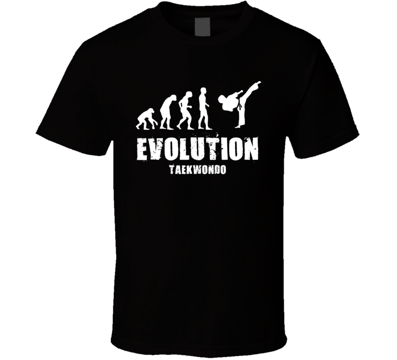Evolution Tae Kwon Do Taekwondo T Shirt