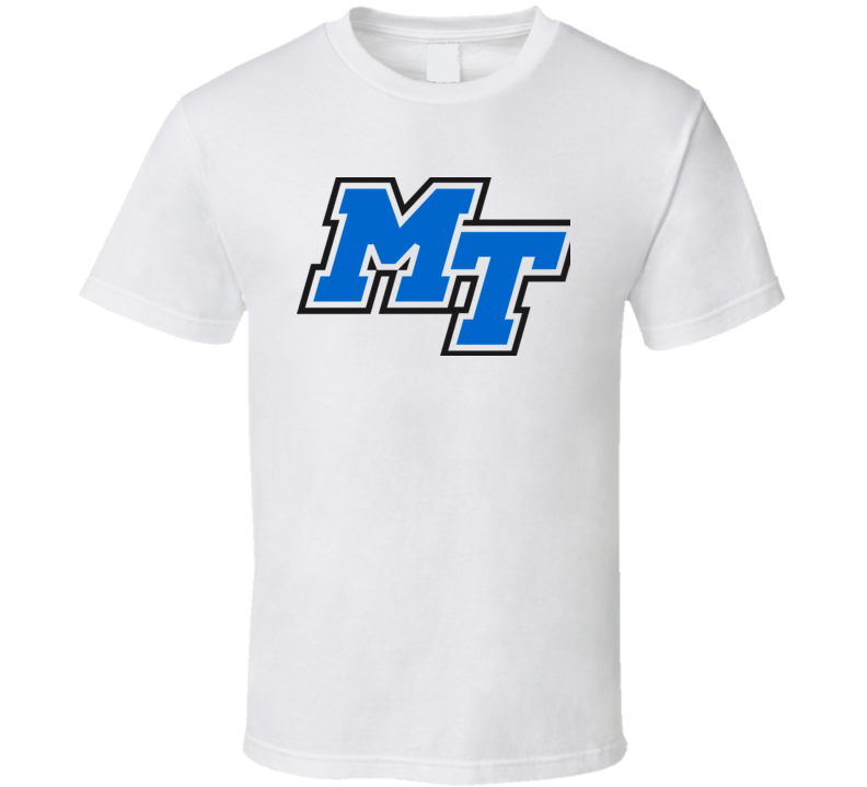 Middle Tennessee The blue zoo basketball t shirt
