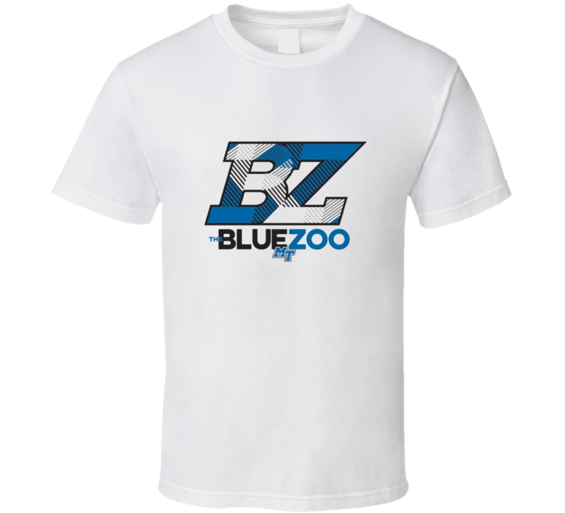The Blue Zoo Middle Tennessee t shirt