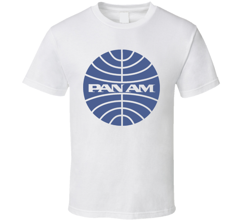 Pan Am Airline Logo Retro T Shirt