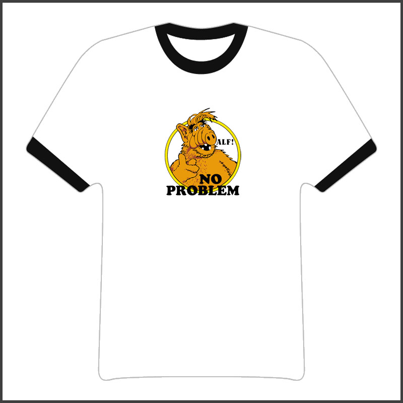 Alf No Problem 80S Tv Show T Shirt