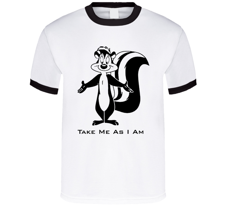 Pepe Le Pew Cartoon T Shirt