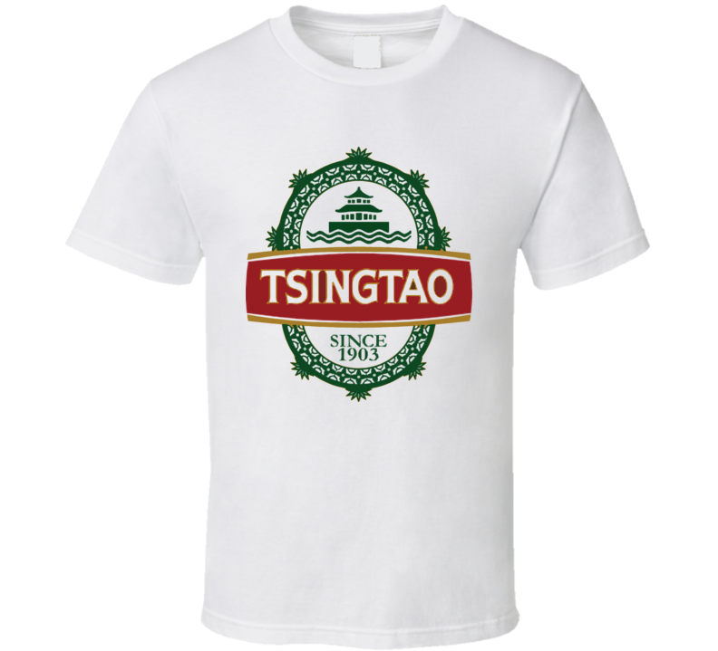 Tsingtao Chinese Beer T Shirt