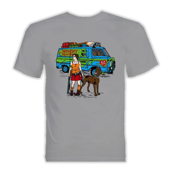 Scooby Doo Zombie Parody T Shirt