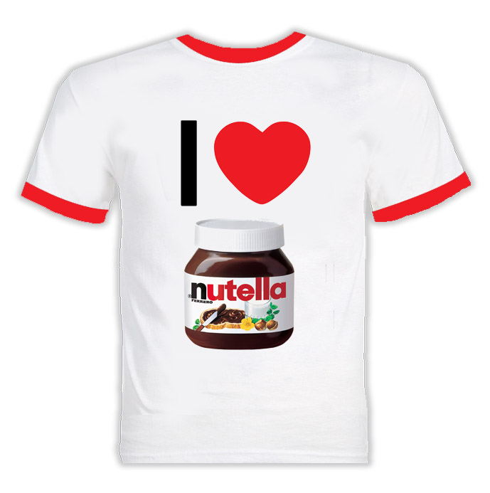 I Heart Nutella T Shirt
