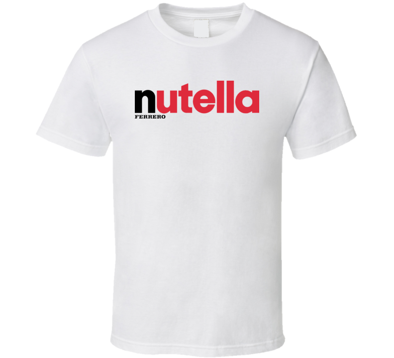 Nutella Chocolate Spread Italian T Shirt