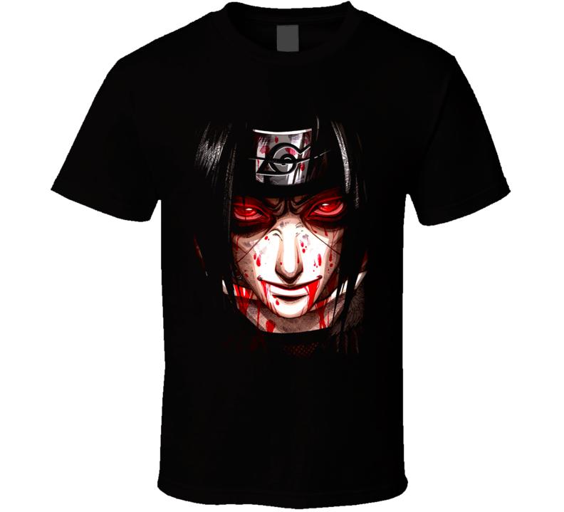 Uchiha Itachi Naruto Tv Show T Shirt