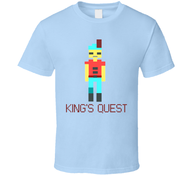 King's Quest Video Game Retro 80s T Shirt