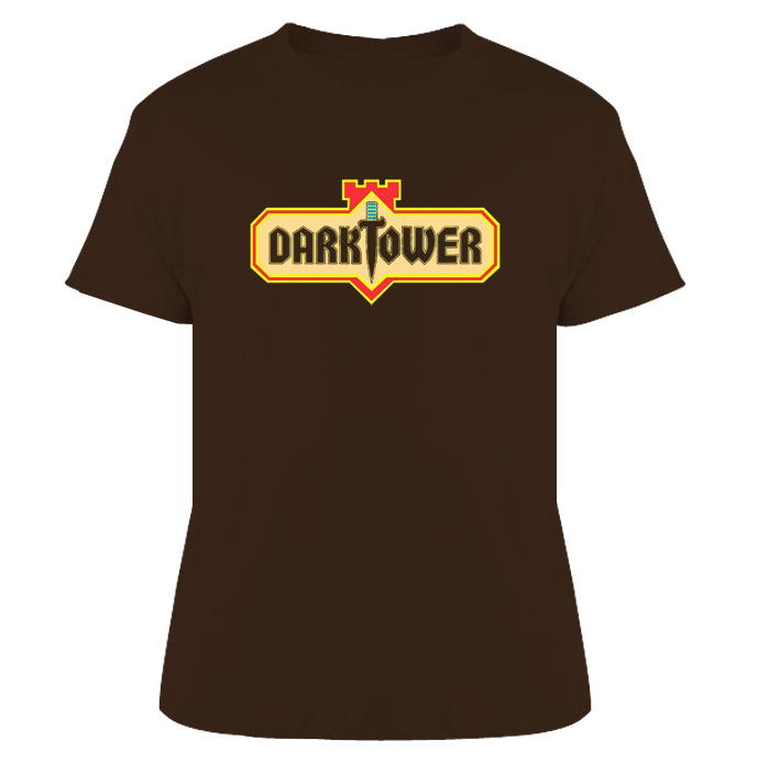 Dark Tower Video Game Retro 80s T Shirt