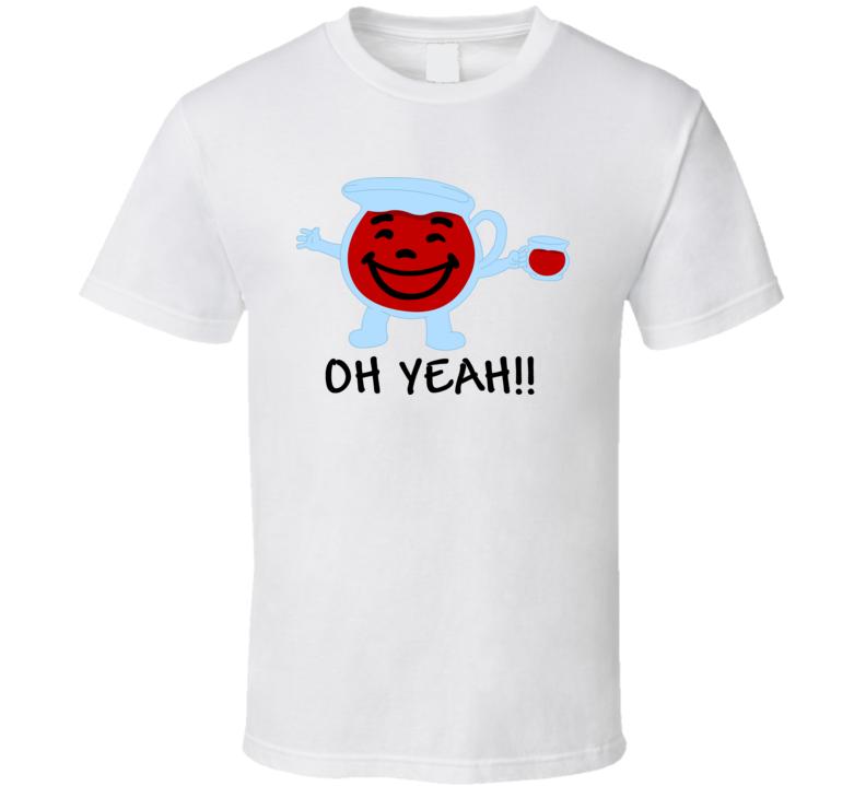 Kool Aid Man Oh Yeah Mascot T Shirt