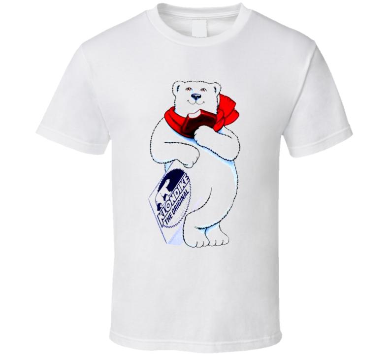 Klondike Bar Bear Mascot T Shirt