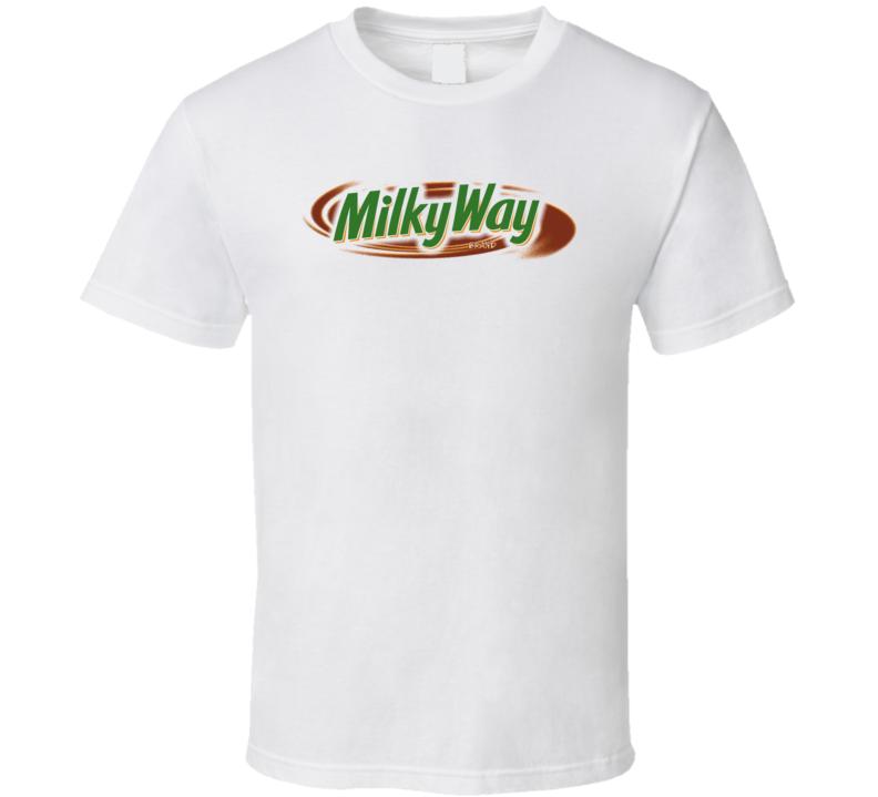 Milky Way Chocholate Candy Bar T Shirt