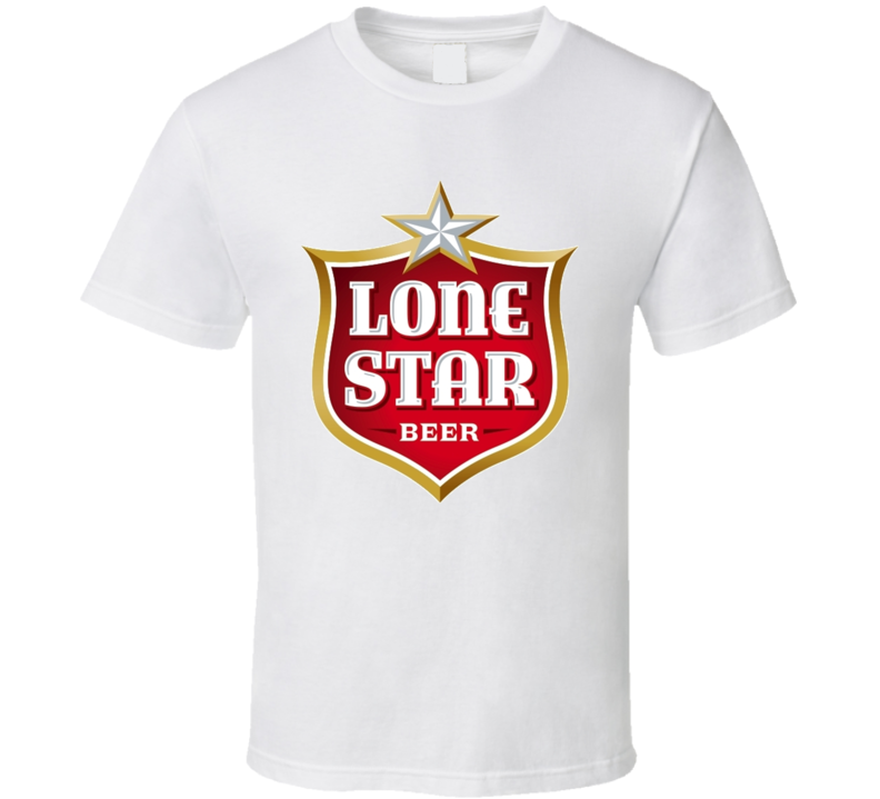 Lone Star Beer Logo Drinking T Shirt