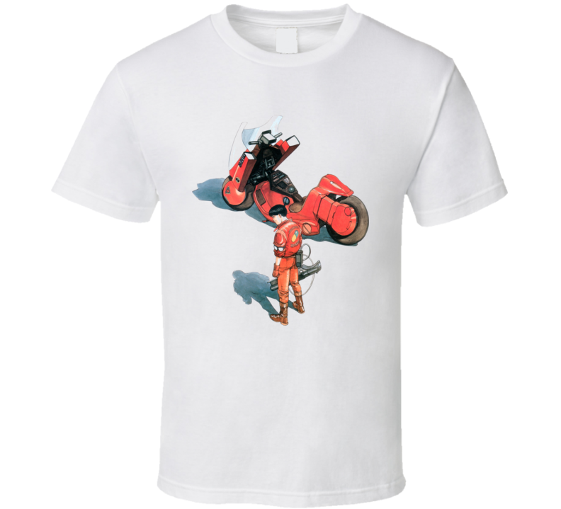 Akira Anime Manga Movie T Shirt