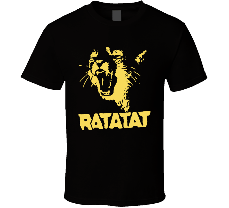 Ratatat Angry Cat House T Shirt