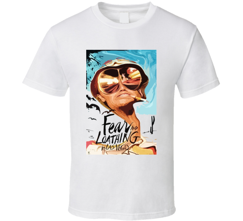 Dr Gonzo Fear And Loathing In Las Vegas T Shirt