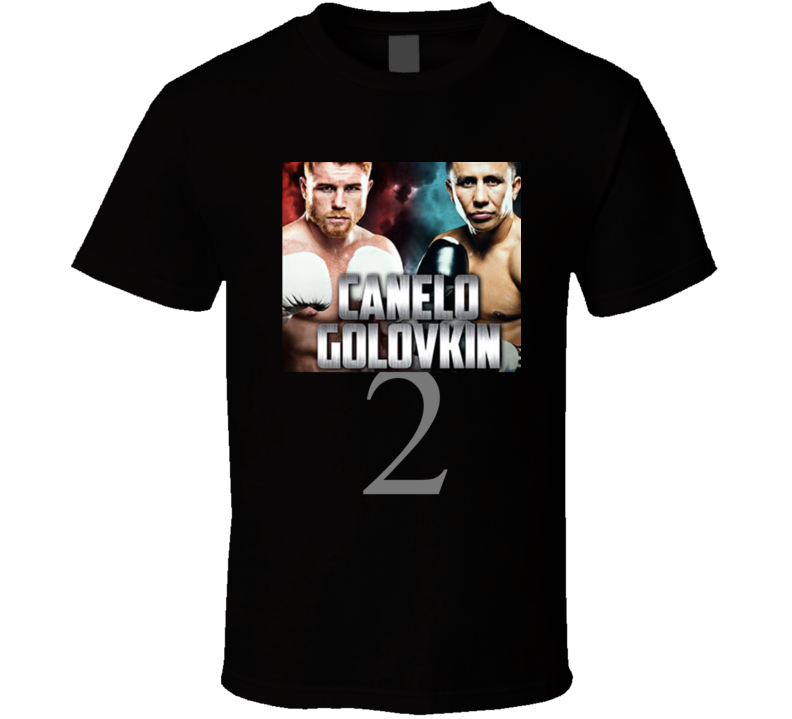 Canelo Golovkin Rematch Ggg  T Shirt