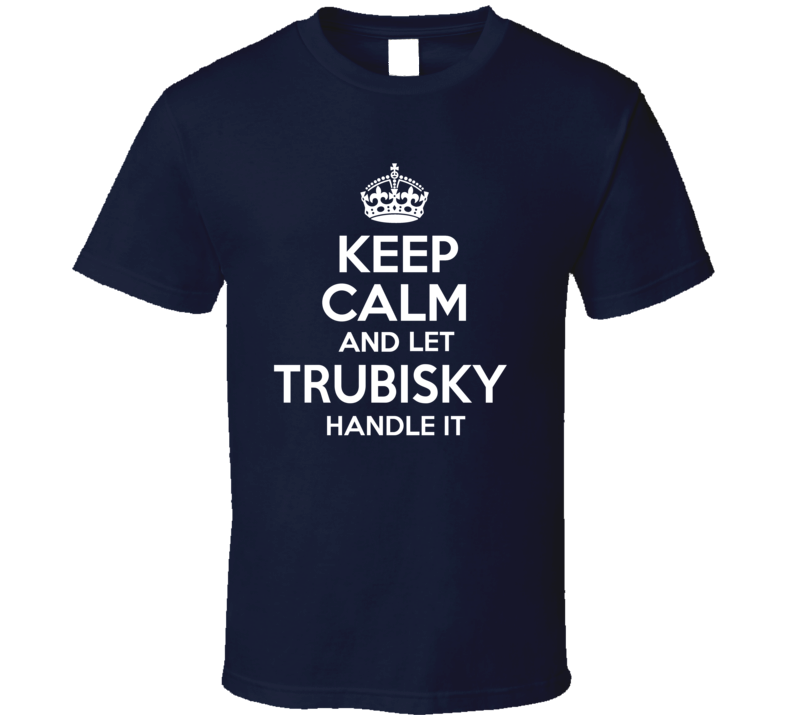 Mitchel Trubisky Football Qb  T Shirt