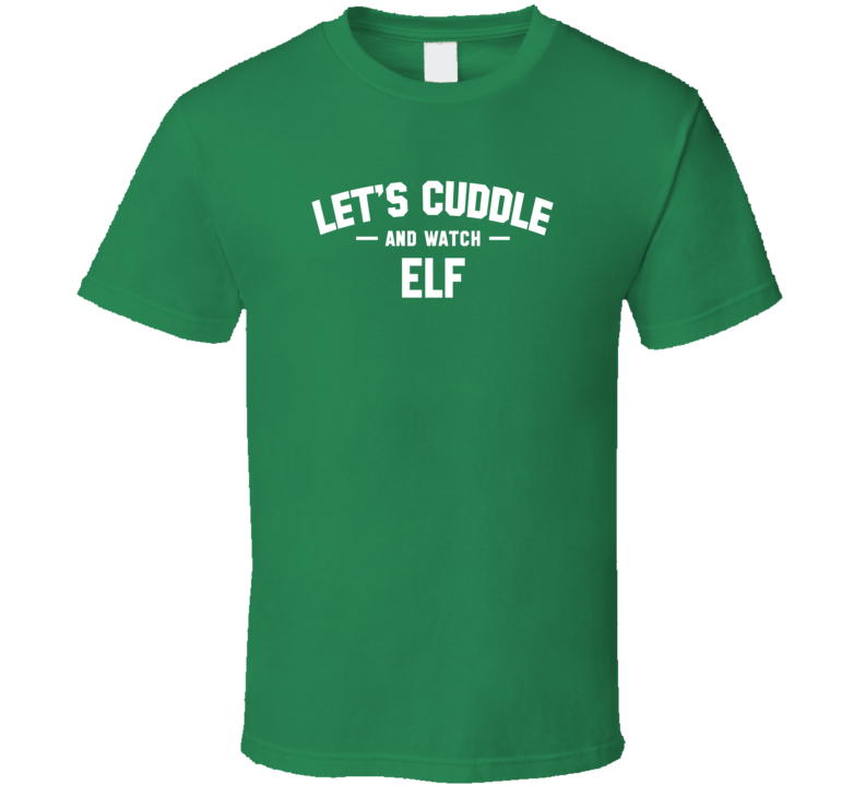 Elf  My Favourite Christmas Movie T Shirt