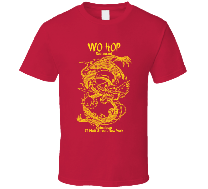 Wo Hop Chinese Restaurant Popular Cool T Shirt