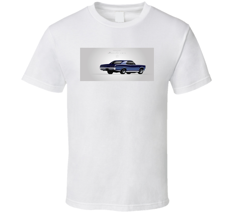 Muscle Car From 67s In Vector T Shirt T Shirt