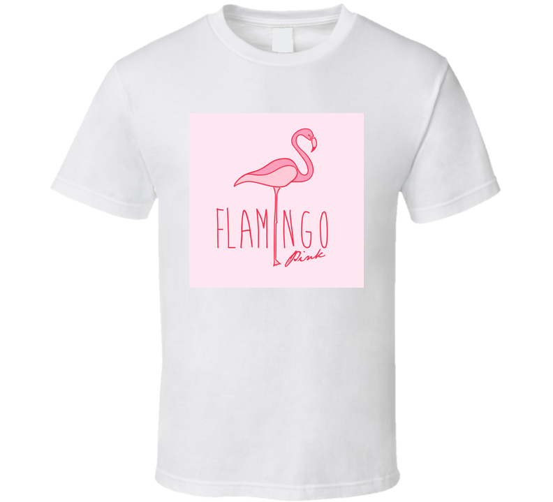 Flamingo Pink Flamingo Vector Print  Kid T-shirt And Other Uses Vector Graphic T Shirt T Shirt