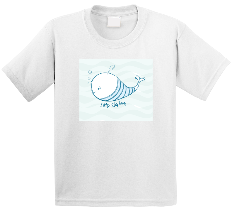 Cute Fish Little Cute Whale  T Shirt T Shirt