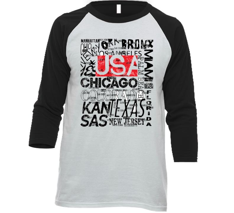 American Logo Athletic Typography T Shirt T Shirt