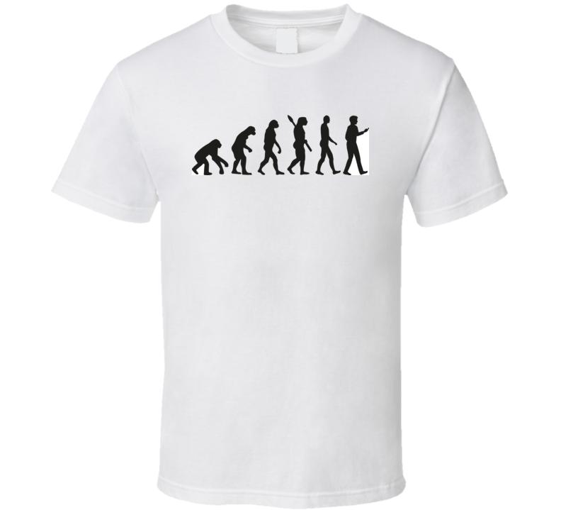 Smartphone Evolution T Shirt T Shirt