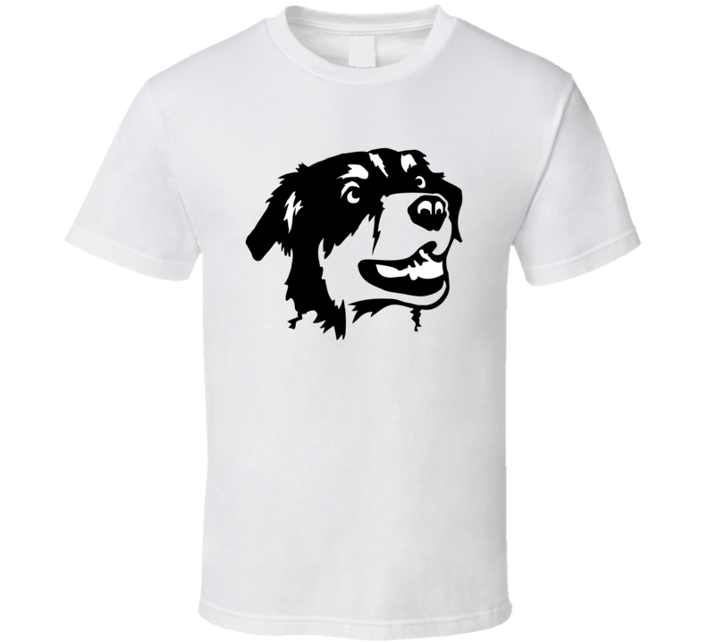 Australian Shepherd Head Black And White T Shirt T Shirt