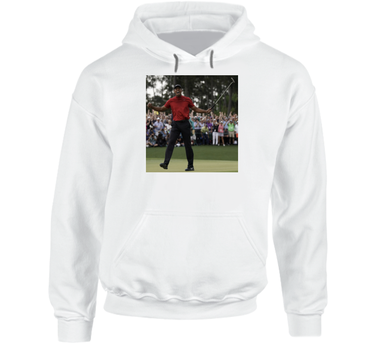 Tiger Woods 2019 Masters Champion Golf Return To Glory Hoodie