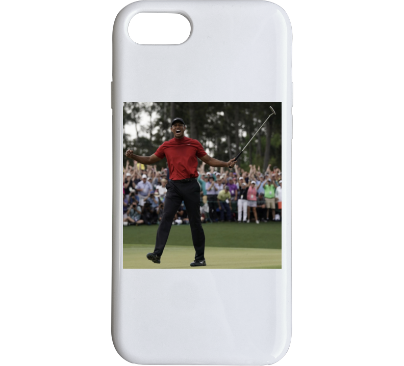 Tiger Woods 2019 Masters Champion Golf Return To Glory Phone Case