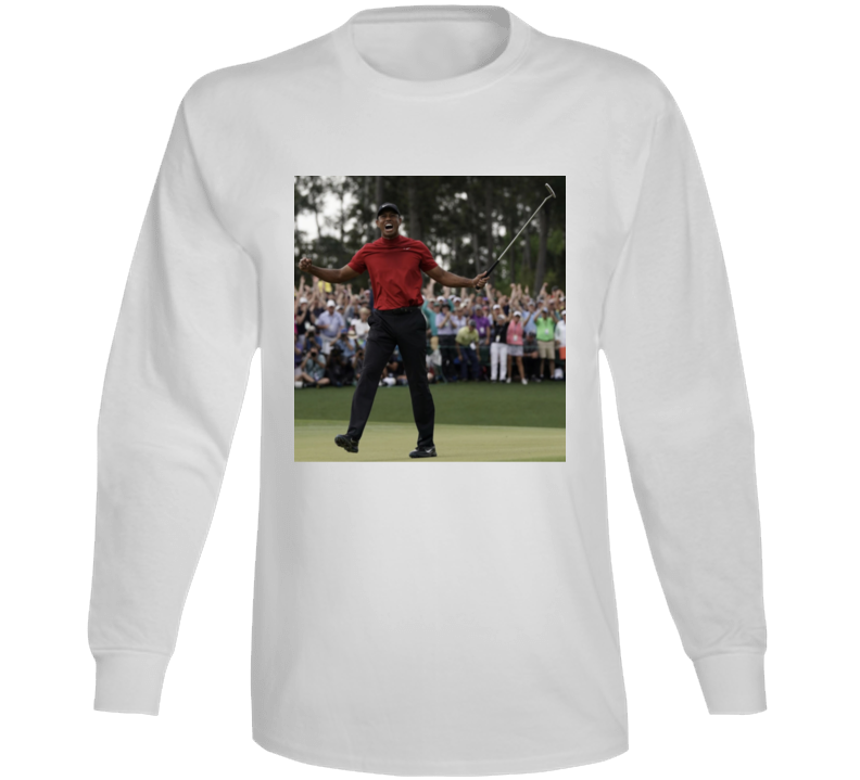 Tiger Woods 2019 Masters Champion Golf Return To Glory Long Sleeve