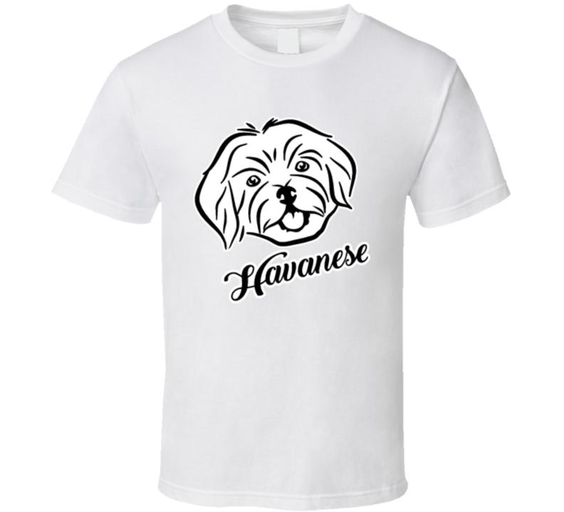 Havanese Head Name T Shirt