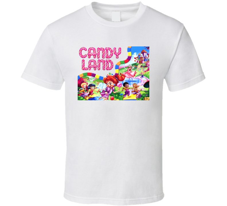 Candy Land Children's Kids Board Game T Shirt