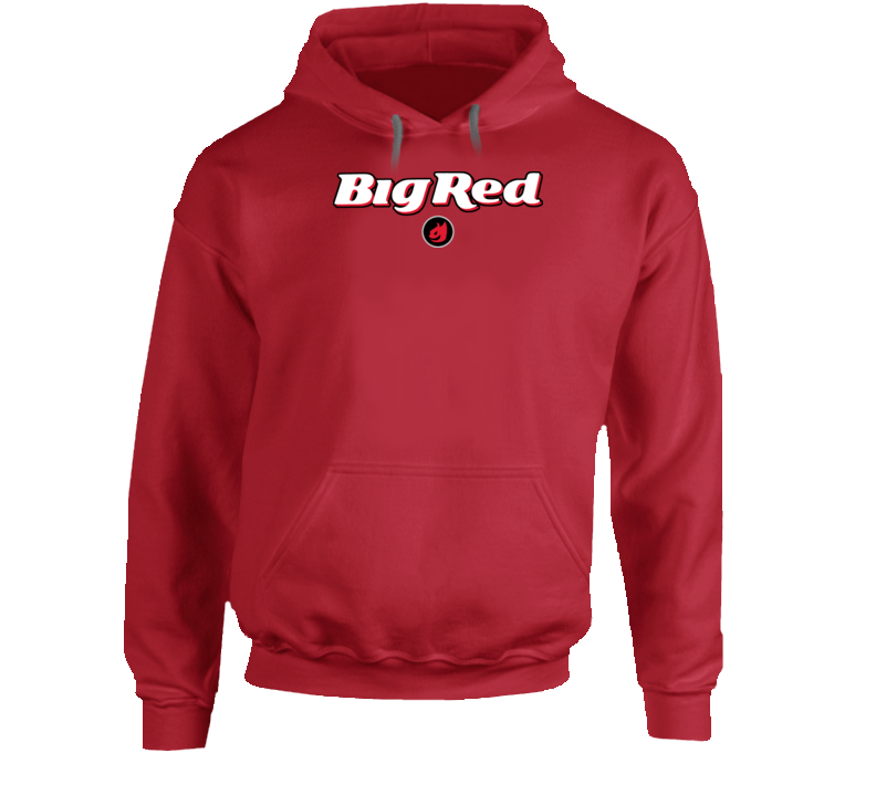 Big Red Gum Cinnamon Chewy Hot Hoodie
