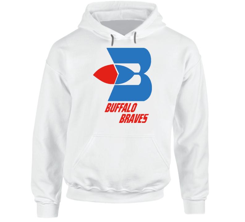 Buffalo Braves 70s Basketball Logo Hoodie